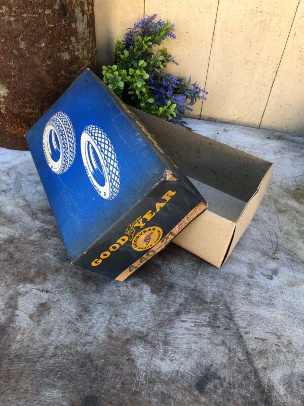 Good Year Tire Tube Box Authentic Vintage Rare