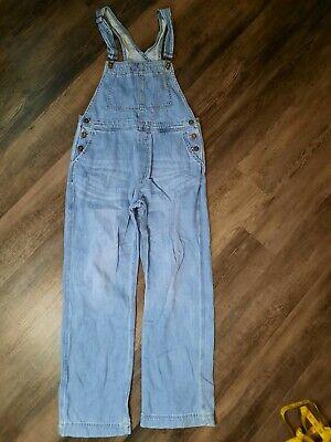 Vintage Overalls & Jumpsuits Free People denim Overalls Womens Size 28 $39.88 AT vintagedancer.com