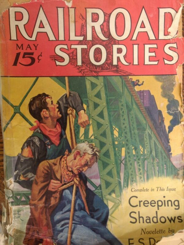 Railroad Stories Magazine May 1933 Issue
