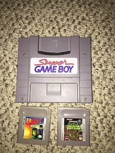 Super Game Boy and games