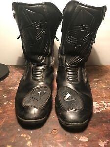 Victory Nitro motorcycle boots size 11