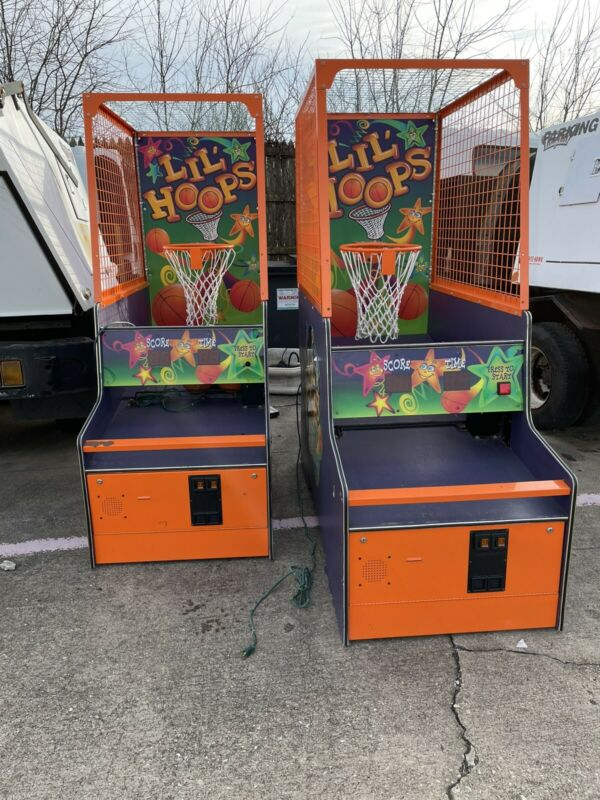 Lil Hoops Op Arcade Basketball Arcade Machine By Bay Tek Ticket Redemption