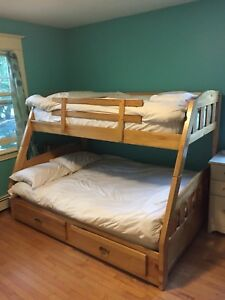 Bunk Beds - single over double