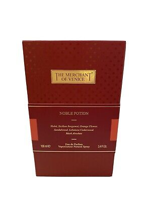 The Merchant Of Venice Noble Potion by Merchant of Venice EDP Spray 3.4 oz NIB