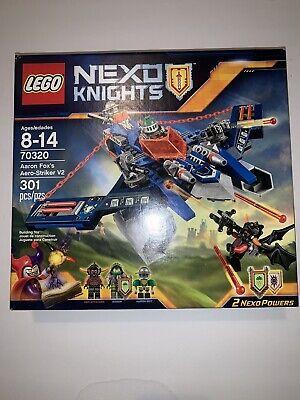 LEGO NEXO KNIGHTS Aaron Fox's Aero-Striker V2 70320 New, Sealed