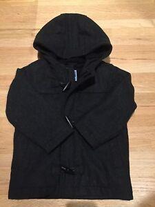 Fleece-lined Wool Jacket - 3T