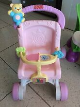 Fisher Price Interactive Steering wheel play and learn & stroller Bentleigh East Glen Eira Area Preview