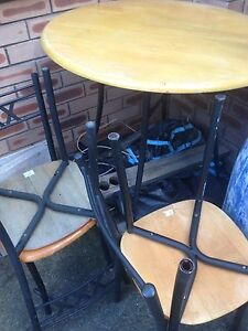 Dining table with four chairs Cabramatta West Fairfield Area Preview