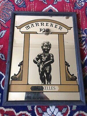 Vintage Manneker PJS Bruxelles Mirror VGC