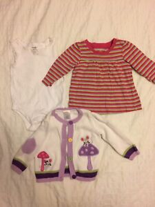 Baby girl 6-12 months items