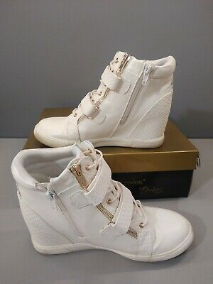 Thalia Sodi Debby Sneakers, Created for Macy's Women's Shoes, White, Size 8.5  Macy Womens Shoes