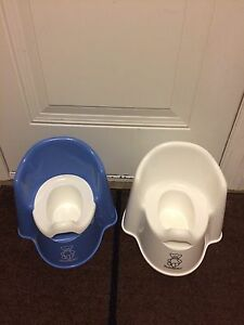 Baby Bjorn potty chairs-white one only