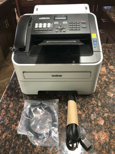 Brother IntelliFax-2840 High-Speed Laser Fax (FAX-2840) EXCELLENT WORKING COND