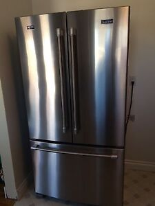Stainless Steel Counter Depth Refrigerator