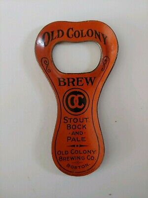 Old Colony BREW Lithographed opener Old Colony Brewing Co. Boston Mass.