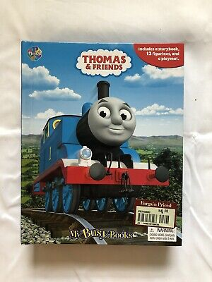 *Thomas & Friends My Busy Book* Includes Storybook, Playmat & 9 Figurines