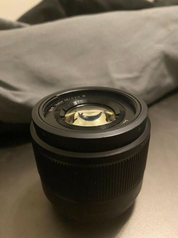 LIGHTLY USED Panasonic LUMIX 25mm f/1.4 D ED Lens
