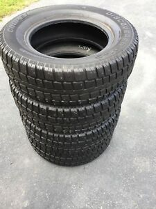 245/70/17  COOPER STUDDED SNOW TIRES