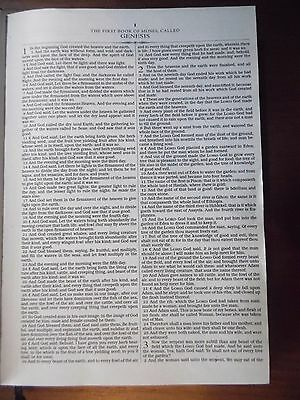 The Holy Bible King James Version Old & New Testaments, Black / GIVEAWAY SALE