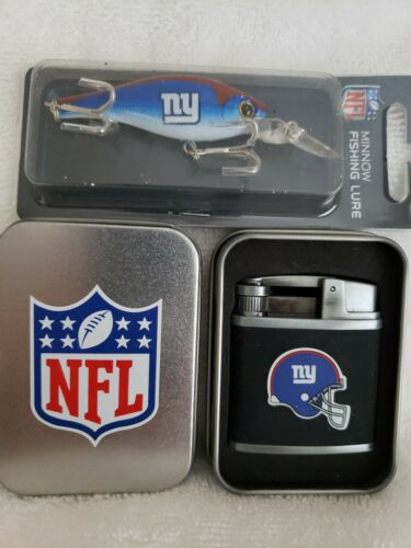 New York Giants Lighter And Fishing Lure