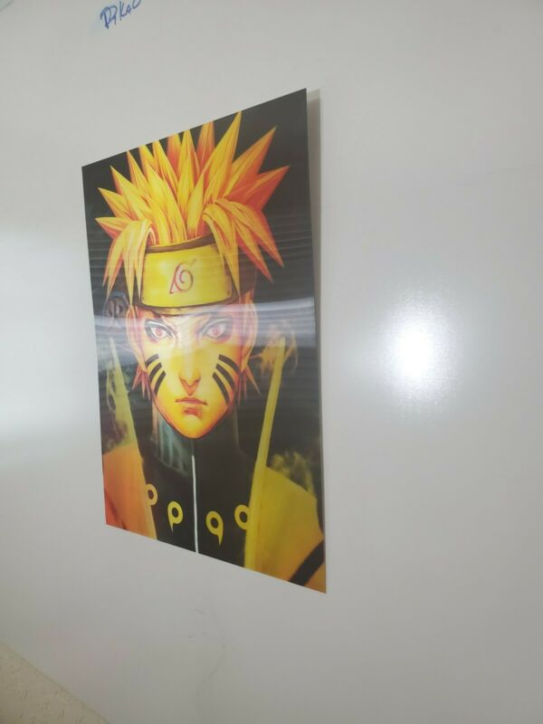 Changing 3D Art Naruto Six Path Mode  lenticular