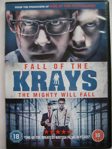 The Fall of the Krays (DVD, 2015) NEW SEALED, Region 2 PAL