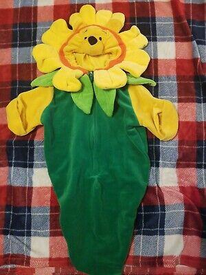 Baby Costume 0-3 Months (Nwot Baby Halloween Costume Winnie The Pooh Sunflower Size 0/3 Months Worn)