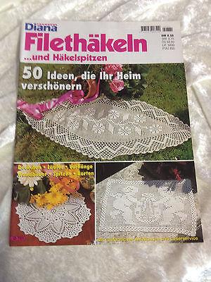 Diana Hakeln Filet Spitzen Tischdecken Deckchen Borten Gardinen