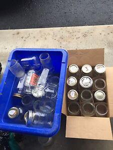 Free assorted  mason jars