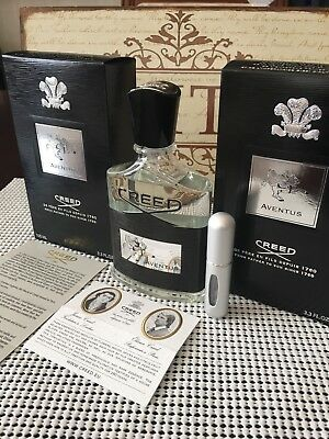 Newest  Creed Aventus Edp   Batch 18B11   5Ml Sample In Deluxe Travel Atomizer