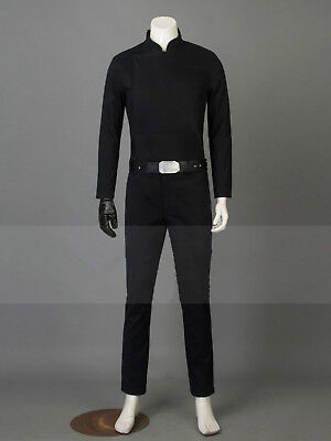 New! Star Wars Return Of The Jedi Luke Skywalker Cosplay Costume Black Uniform