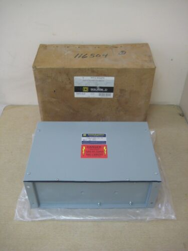 New Square D PFC4025 25KVAR 480V 3P Var-Gard Power Factor Industrial Capacitor