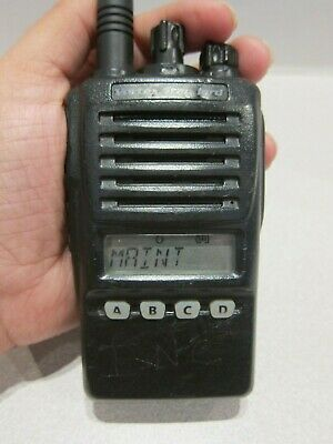 Vertex Standard Vx-354-ag8b-5 16 Ch 380-470 Mhz Uhf Two Way Radio