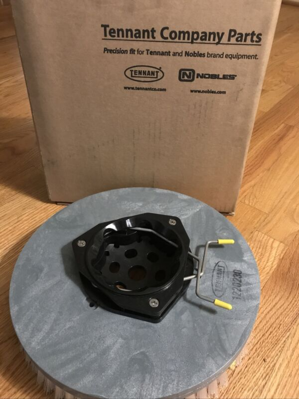 "New Genuine Tennant 1220230 Nylon 13"" Scrubber Bristle Scrub Disc Brush Disk"