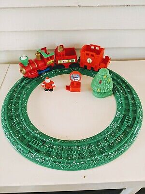 Fisher Price Geotrax North Pole Express Christmas Santa Train Set