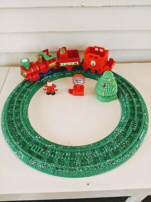 Fisher Price Geotrax North Pole Express Christmas Santa Train Set