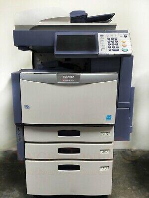 Toshiba E-studio 4540c Color Printer Scanner Copier 45 Ppm Laser Tabloidledger