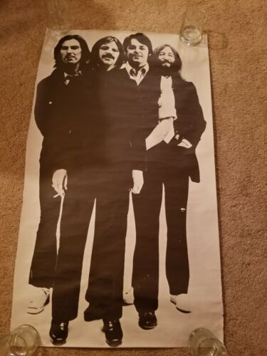 "The Beatles White Album Band 24"" x 41"" Vintage Poster"