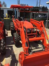 50hp Kubota MX5100 with 4in1 loader and slasher for dry Hire Alderley Brisbane North West Preview
