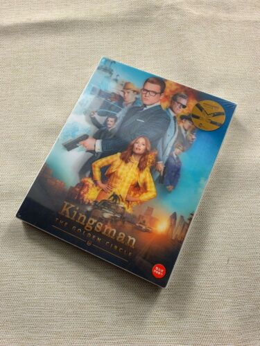 KINGSMAN: THE GOLDEN CIRCLE  BLU-RAY STEELBOOK KIMCHIDVD COLLECTION,NEW/SEALED