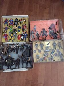 Villes figurines xmen lords of the rings stargate etc