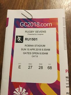 Commonwealth Games tickets - Rugby Sevens Finals