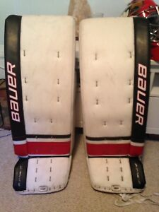 Bauer one.9 goalie pads