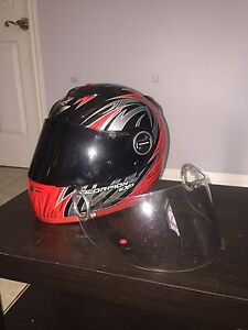 Scorpion EXO 400 Motorcycle Helmet