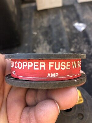 10 Amp. Tinned Copper Fuse Wire 200grams