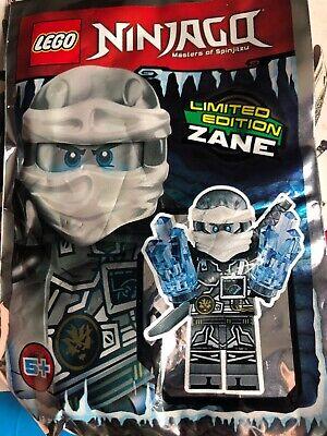 Lego Ninjago Ice Zane Mini Figure Polybag