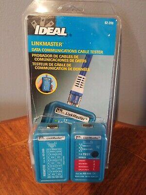 Ideal Linkmaster 62-200 Ethernet Network Tester Rj-45 Remote