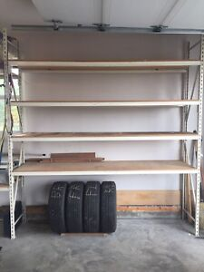 48 linear feet of Heavy Duty Garage / Warehouse racking