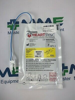 Aed Electrode Pads For Zoll Monitors T100loac-zoll 18-24 Month Exp