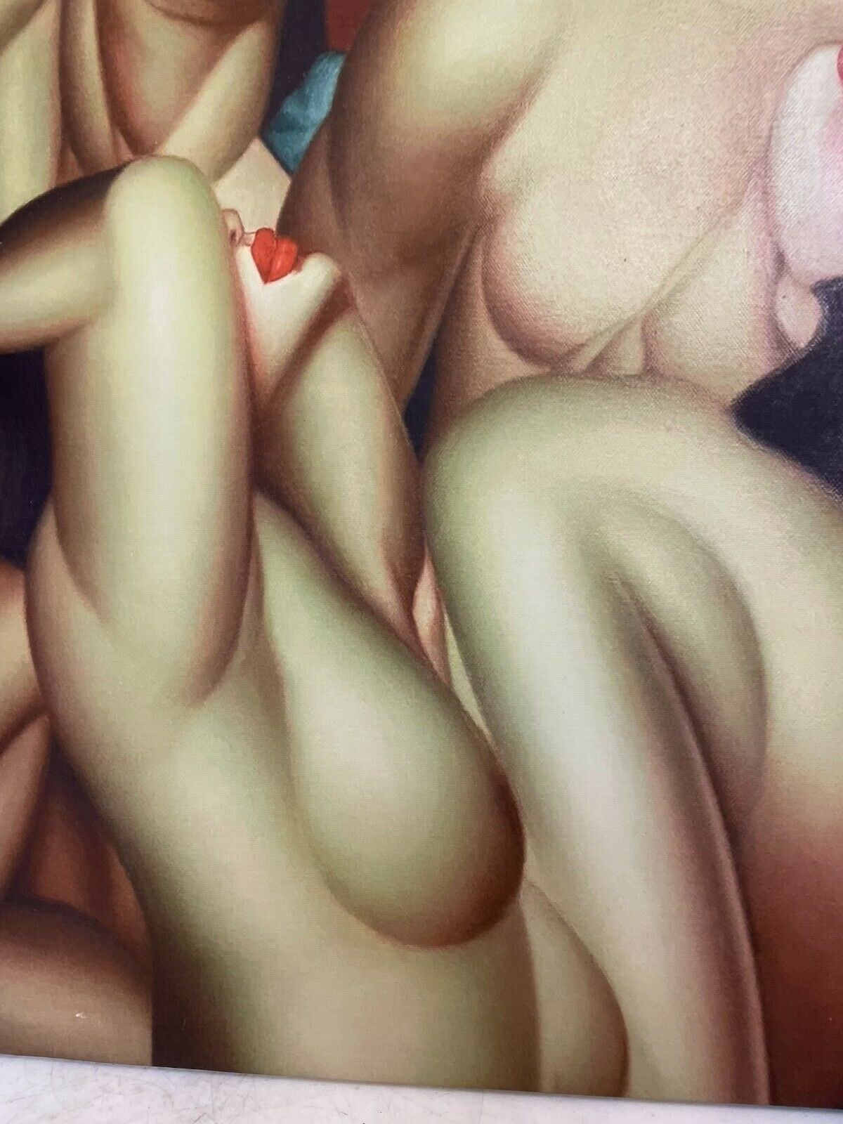 Giclee On Canvas - Four Nude Woman - $200.00